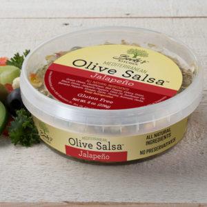 Becki's Jalapeno Mediterranean Olive Salsa